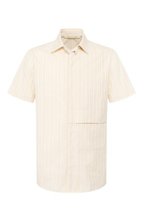 Мужская хлопковая рубашка 1017 ALYX 9SM бежевого цвета, арт. AAMSH0033FA01   Фото 1