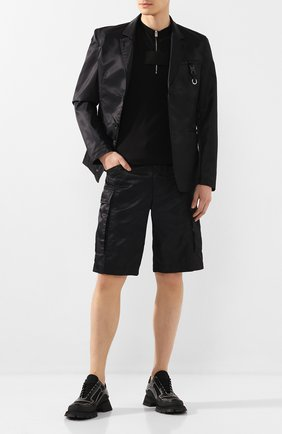 Мужская хлопковая футболка 1017 ALYX 9SM черного цвета, арт. AAMTS0127FA02   Фото 2