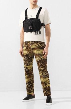 Мужская текстильная нагрудная сумка 1017 ALYX 9SM черного цвета, арт. AAUCB0003FA01 | Фото 2