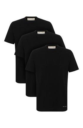 Мужская комплект из трех футболок 1017 ALYX 9SM черного цвета, арт. AVUTS0024FA01   Фото 1