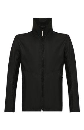 Мужская кожаная куртка ISAAC SELLAM черного цвета, арт. CYCL0PE-PLUME | Фото 1
