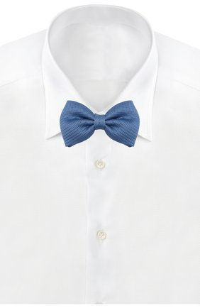 Мужской шелковый галстук-бабочка BRIONI синего цвета, арт. 01L200/PZ416 | Фото 2
