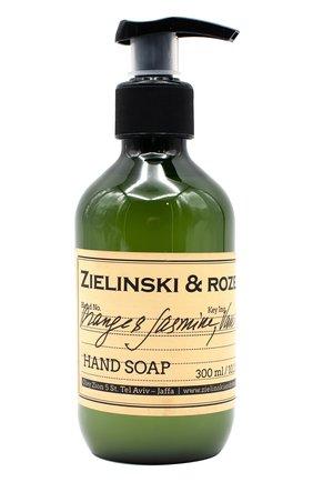 Женского жидкое мыло orange & jasmine, vanilla ZIELINSKI&ROZEN бесцветного цвета, арт. 4627080781177 | Фото 1