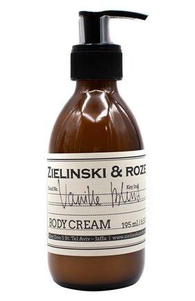 Женского крем для тела vanilla blend ZIELINSKI&ROZEN бесцветного цвета, арт. 4627153152231 | Фото 1