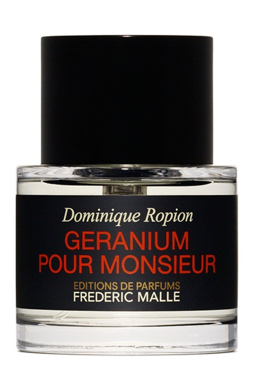 Мужской парфюмерная вода geranium pour monsieur FREDERIC MALLE бесцветного цвета, арт. 3700135003835   Фото 1