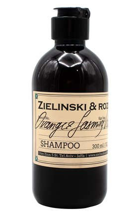 Женский шампунь orange & jasmine, vanilla ZIELINSKI&ROZEN бесцветного цвета, арт. 4627153152071   Фото 1