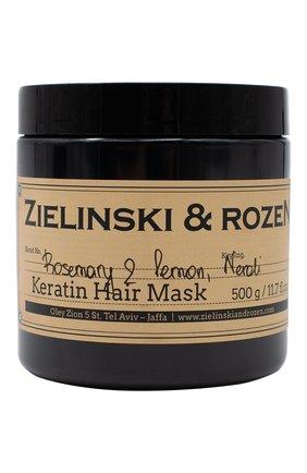 Женская кератиновая маска для волос rosemary & lemon, neroli ZIELINSKI&ROZEN бесцветного цвета, арт. 4627153152477 | Фото 1