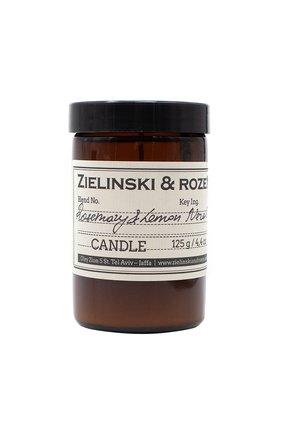 Свеча rosemary & lemon, neroli ZIELINSKI&ROZEN бесцветного цвета, арт. 4627153152491   Фото 1