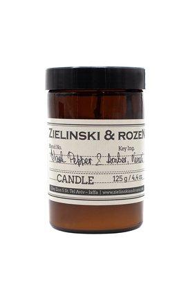 Мужская свеча black pepper & amber, neroli ZIELINSKI&ROZEN бесцветного цвета, арт. 4627153152484 | Фото 1