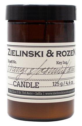 Мужская свеча orange & jasmine, vanilla ZIELINSKI&ROZEN бесцветного цвета, арт. 4627153152514 | Фото 1