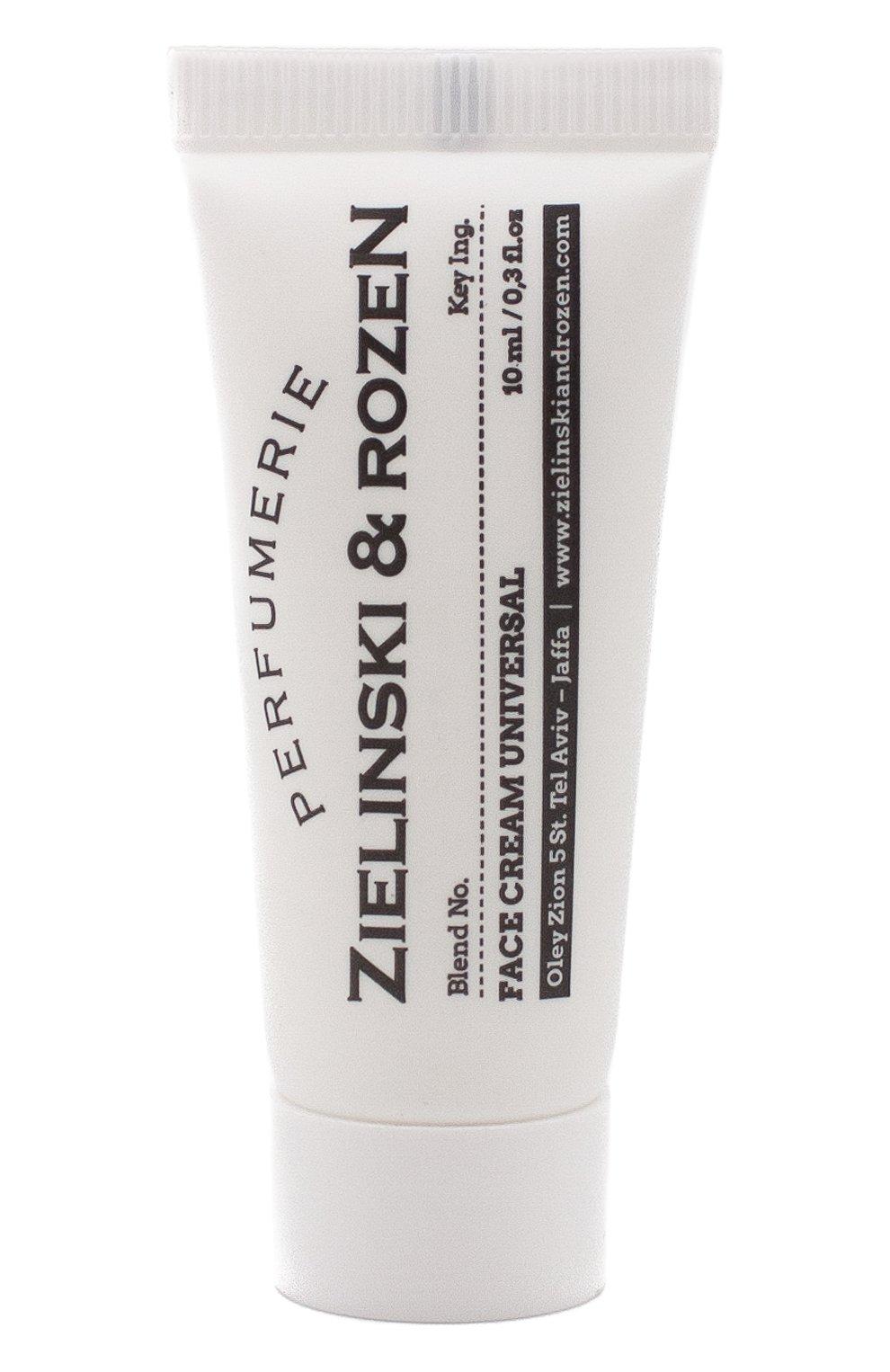 Женское увлажняющий крем для лица ZIELINSKI&ROZEN бесцветного цвета, арт. 4627153152323   Фото 1