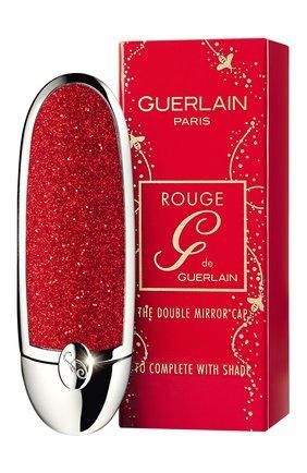 Женский футляр для помады rouge g, оттенок игристый красный GUERLAIN бесцветного цвета, арт. G043169 | Фото 2