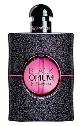 Женский парфюмерная вода black opium neon YSL бесцветного цвета, арт. 3614272824973 | Фото 1