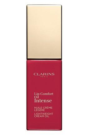 Масло-тинт для губ lip comfort oil intense, 04 CLARINS бесцветного цвета, арт. 80060078 | Фото 2