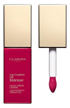 Масло-тинт для губ lip comfort oil intense, 06 CLARINS бесцветного цвета, арт. 80060080 | Фото 1