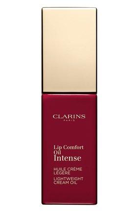 Масло-тинт для губ lip comfort oil intense, 08 CLARINS бесцветного цвета, арт. 80060082 | Фото 2