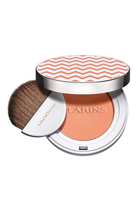 Женские компактные румяна joli blush, cheeky peachy CLARINS бесцветного цвета, арт. 80060654 | Фото 1
