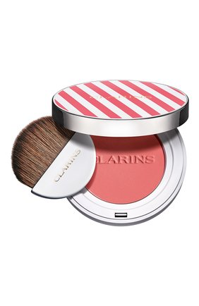 Женские компактные румяна joli blush, cheeky pinky CLARINS бесцветного цвета, арт. 80060655 | Фото 1
