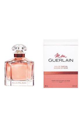 Женский парфюмерная вода mon guerlain bloom of rose GUERLAIN бесцветного цвета, арт. G013946 | Фото 2