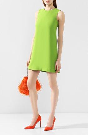 Женские кожаные туфли celia RALPH LAUREN оранжевого цвета, арт. 800791764 | Фото 2