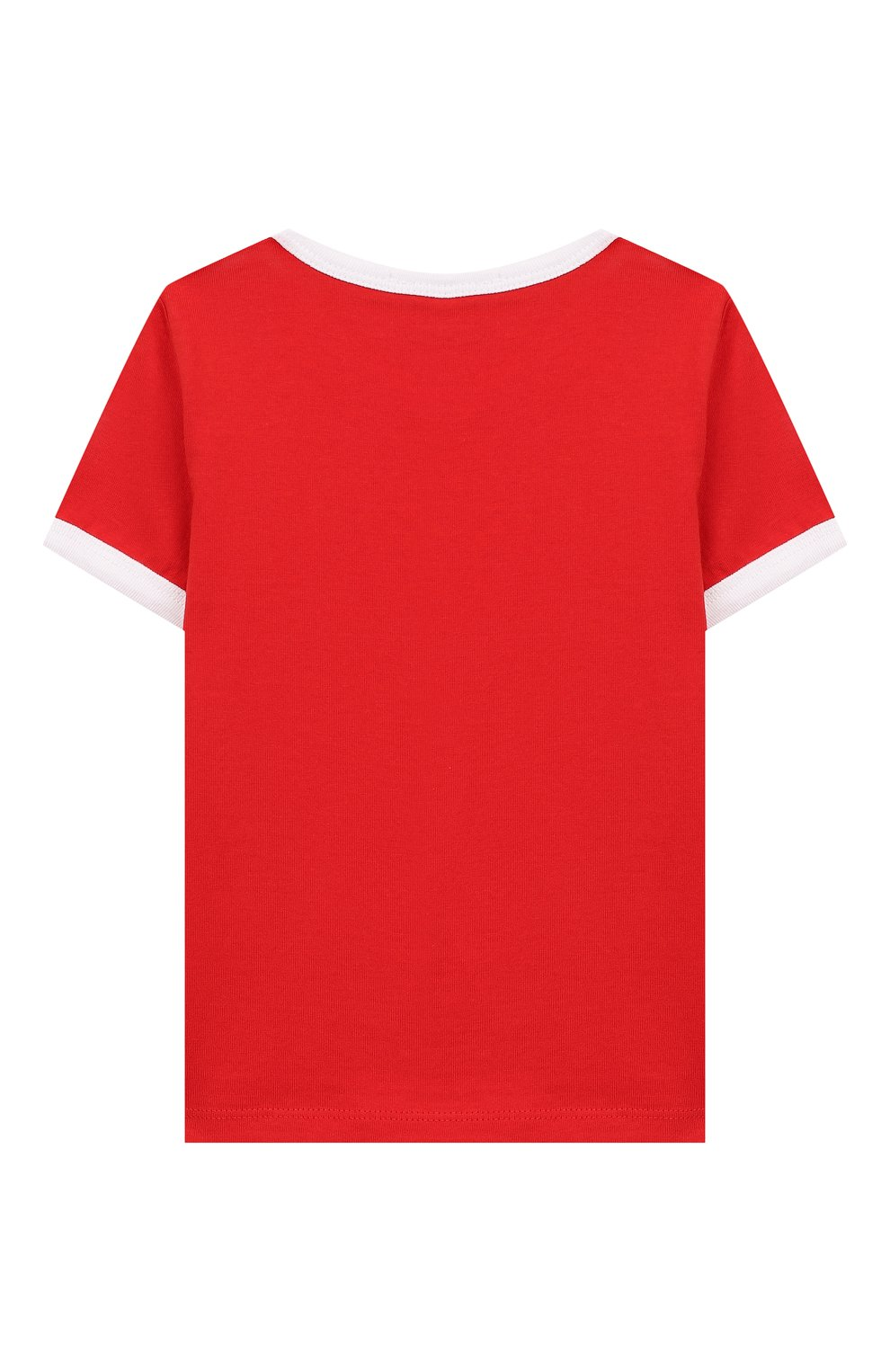 Детский хлопковая футболка MARC JACOBS (THE) красного цвета, арт. W05278   Фото 2