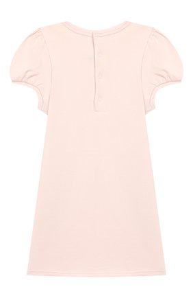 Женский хлопковое платье MARC JACOBS (THE) светло-розового цвета, арт. W02138 | Фото 2
