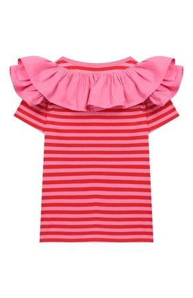 Детская хлопковая футболка MARC JACOBS (THE) разноцветного цвета, арт. W15495 | Фото 2