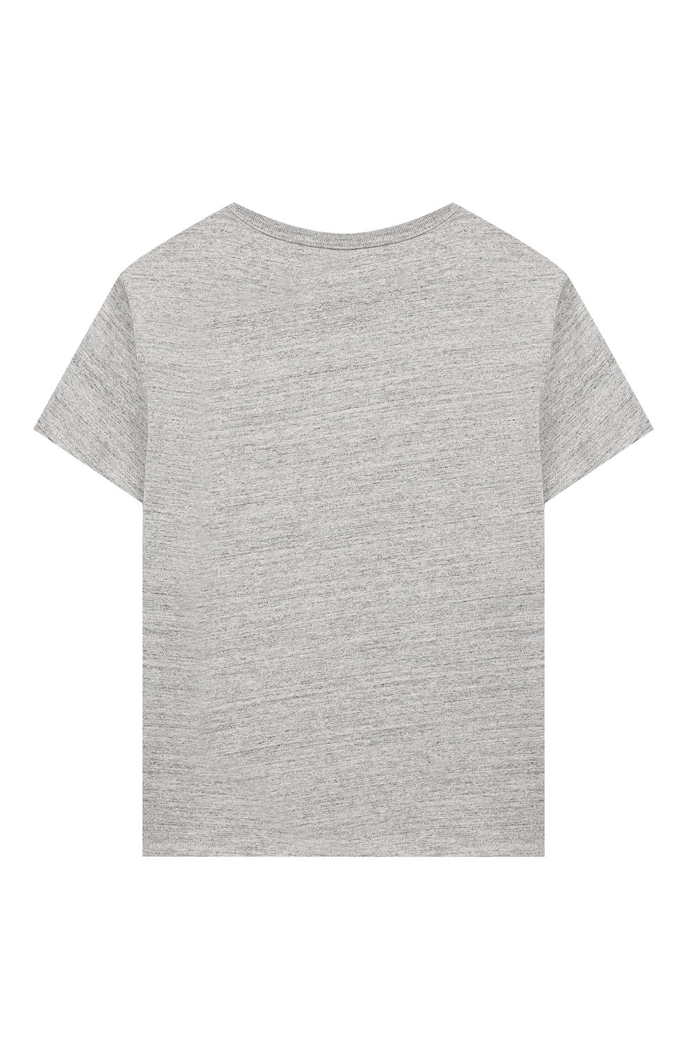 Детская хлопковая футболка MARC JACOBS (THE) серого цвета, арт. W15484 | Фото 2