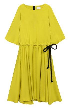 Детское платье UNLABEL салатового цвета, арт. ASTER-1/04-IN001/12A-16A | Фото 1