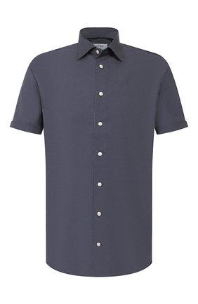 Мужская хлопковая сорочка ETON синего цвета, арт. 1000 01582   Фото 1