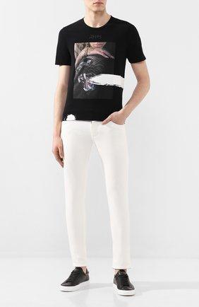 Мужская хлопковая футболка RH45 черного цвета, арт. 28HS31 | Фото 2