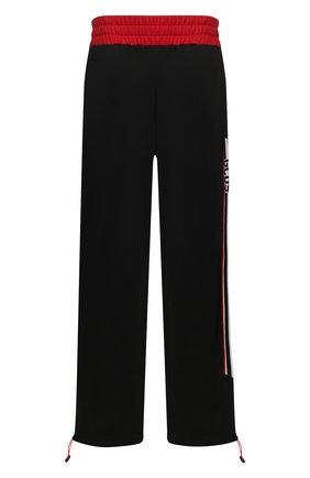 Мужской брюки GCDS черного цвета, арт. CC94M031301 | Фото 1