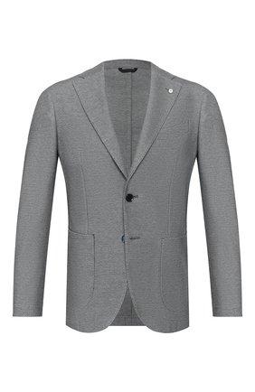 Мужской хлопковый пиджак L.B.M. 1911 синего цвета, арт. 2817/05769 | Фото 1
