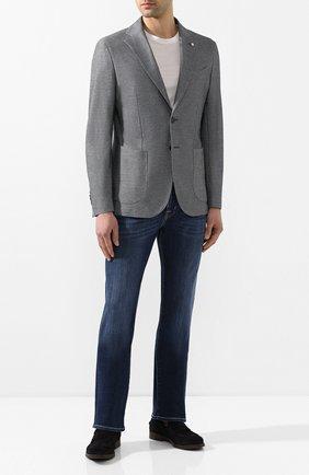 Мужской хлопковый пиджак L.B.M. 1911 синего цвета, арт. 2817/05769 | Фото 2