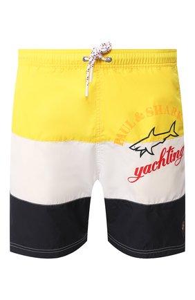 Детского плавки-шорты PAUL&SHARK разноцветного цвета, арт. E20P5012/3XL-6XL | Фото 1