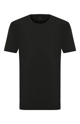 Мужская хлопковая футболка MD 75 черного цвета, арт. MD6253   Фото 1