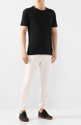 Мужская хлопковая футболка MD 75 черного цвета, арт. MD6253   Фото 2