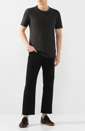 Мужская хлопковая футболка MD 75 темно-серого цвета, арт. MD6253 | Фото 2