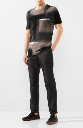Мужской хлопковый джемпер MD 75 серого цвета, арт. MD6203 | Фото 2