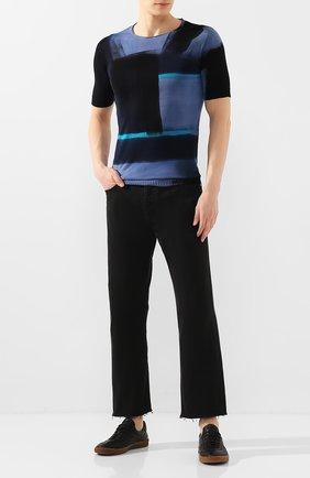 Мужской хлопковый джемпер MD 75 темно-синего цвета, арт. MD6203 | Фото 2