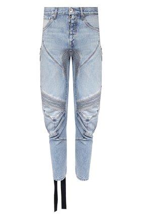 Мужские джинсы BEN TAVERNITI UNRAVEL PROJECT голубого цвета, арт. UMYA018S20DEN0014500 | Фото 1