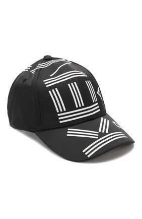 Мужской бейсболка KENZO черного цвета, арт. FA55AC201F24 | Фото 1
