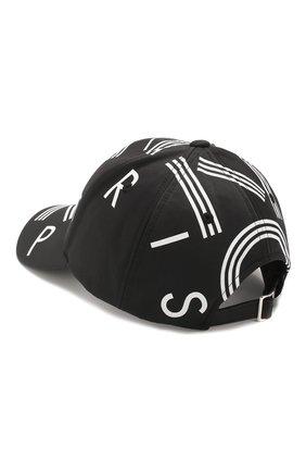 Мужской бейсболка KENZO черного цвета, арт. FA55AC201F24 | Фото 2