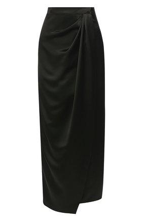 Женская юбка JM STUDIO зеленого цвета, арт. JMSS2026 | Фото 1