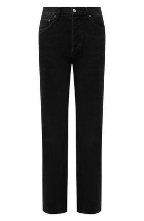 Женские джинсы AGOLDE черного цвета, арт. A140-1157 | Фото 1