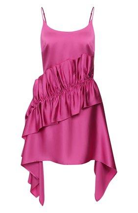 Женское платье CHRISTOPHER KANE фуксия цвета, арт. RE20 DR3335 HEAVY SLINKY SATIN | Фото 1