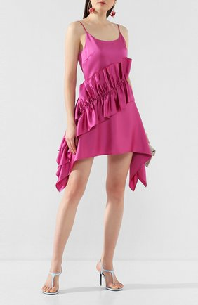 Женское платье CHRISTOPHER KANE фуксия цвета, арт. RE20 DR3335 HEAVY SLINKY SATIN | Фото 2