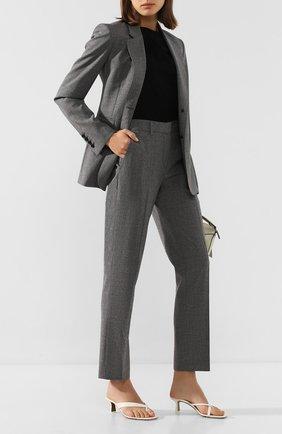 Женский шерстяной жакет GABRIELA HEARST серого цвета, арт. 320503 W017 | Фото 2
