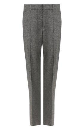 Женские шерстяные брюки GABRIELA HEARST серого цвета, арт. 320204 W017 | Фото 1
