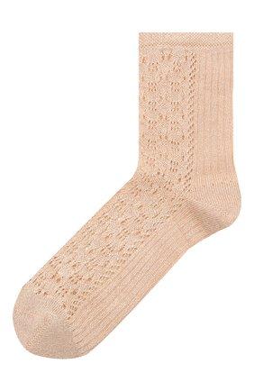 Женские носки OROBLU бежевого цвета, арт. V0BFVF28SM | Фото 1